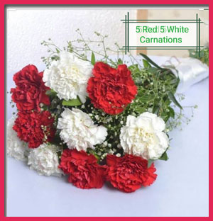5-red-&amp-5-white-carnations