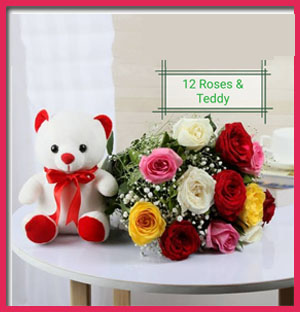 12-roses-&amp-teddy